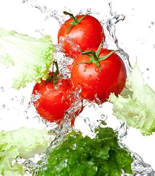 食べ物の除菌にも使用できる安全性
